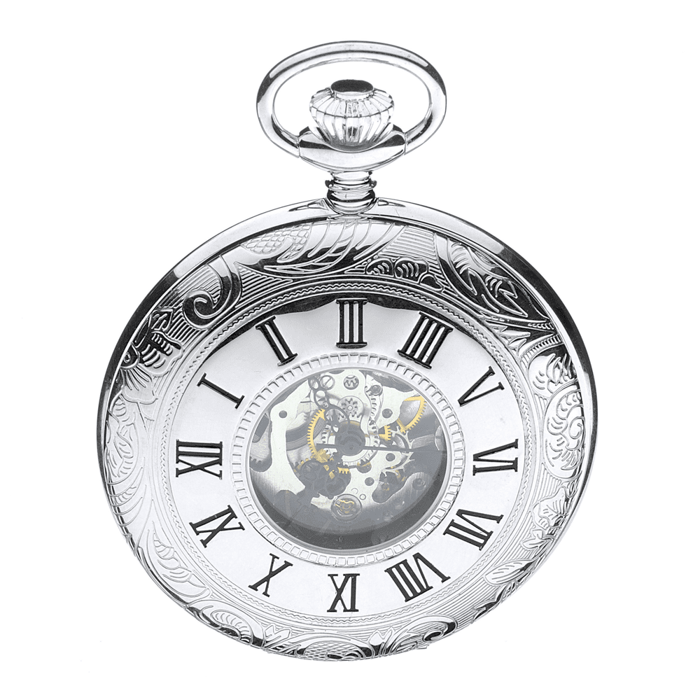 how to open back of jean pierre quartz pocket watch