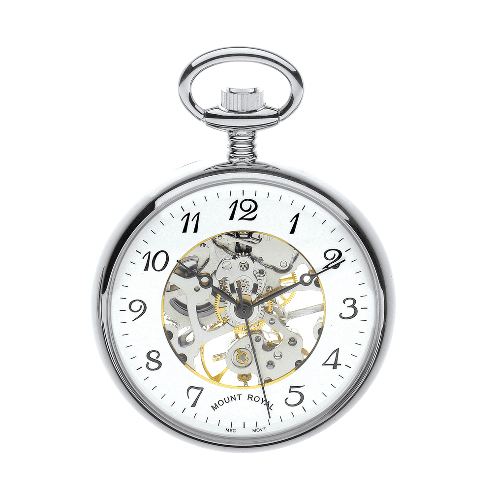 image watches mechanical greenwich the open chrome eltham face pocket watch